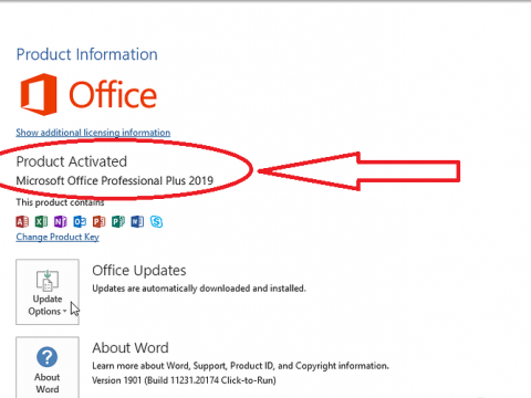 How To Activate Office 2019 and 2016