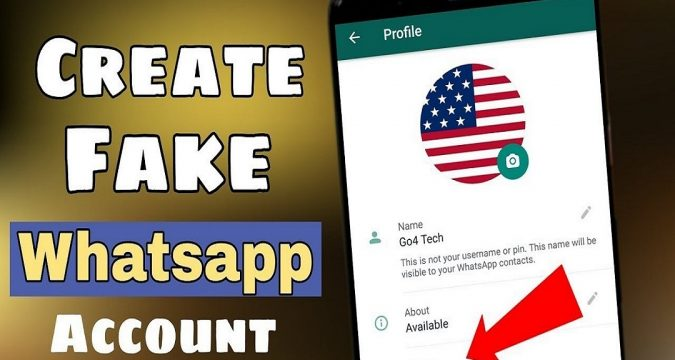 how to create a Whatsapp account with a virtual number