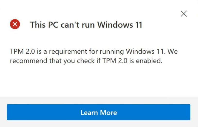 How to upgrade to Windows 11 from an old version.